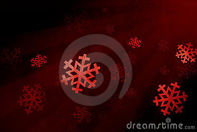 Snow flake red
