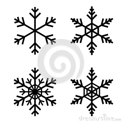Free Snow Flake Vector Royalty Free Stock Photos - 82846008