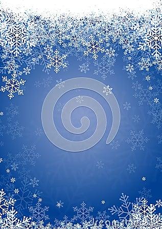 Free Snow Flakes Blue Stock Image - 12136581