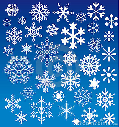 Free Snow Flakes Choices Royalty Free Stock Images - 9566679