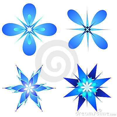 Snow flakes designs