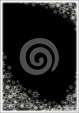 Free Snow Frame Royalty Free Stock Photo - 347875