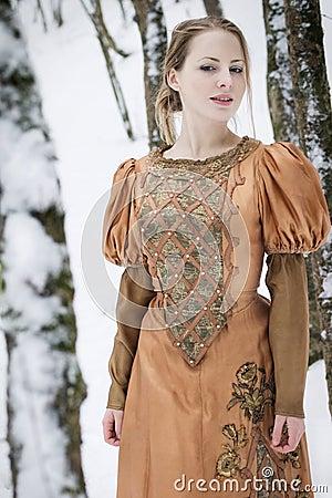 Free Snow Girl Royalty Free Stock Photo - 16687675