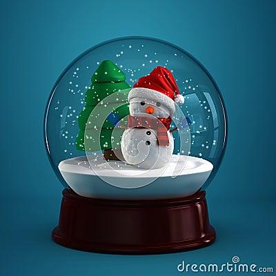 Free Snow Globe Stock Photo - 27312570