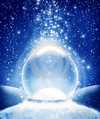 Free Snow Globe Stock Photography - 48290422