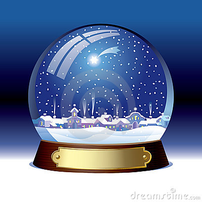 Free Snow Globe Royalty Free Stock Image - 6385776