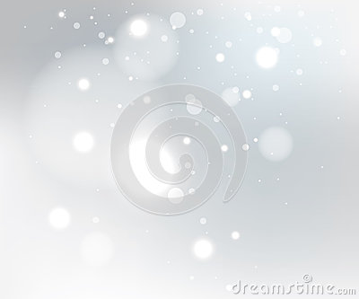 Snow gray background