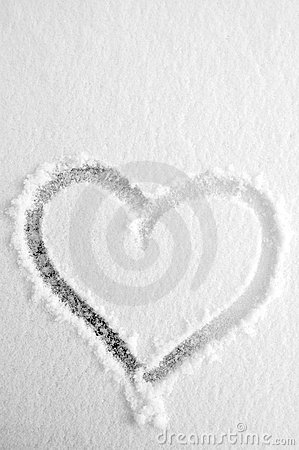 Free Snow Heart Stock Images - 208214