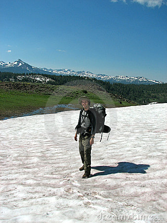 Snow Hiker