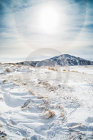 Free Snow In Mount Aso Royalty Free Stock Images - 49681319