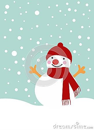 Free Snow Man Royalty Free Stock Image - 11736856