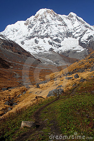Snow Mountain Annapurna