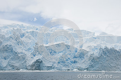 Snow mountains in Antarctic