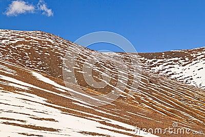 Snow Mountains in Namco, Tibet