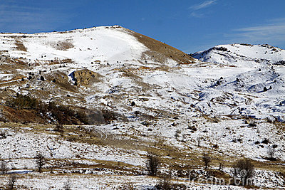 Snow Munzur Vale, Tunceli.