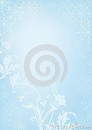 The snow pattern