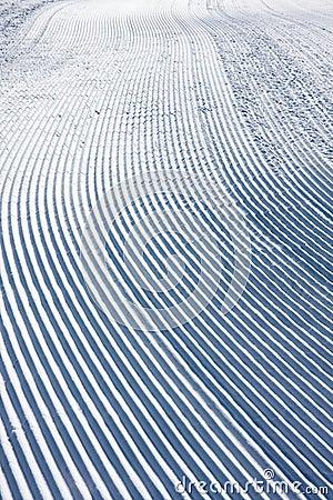 Free Snow Pattern On Ski Slope Stock Photos - 11853693