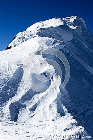 Free Snow Peak Stock Image - 8507241