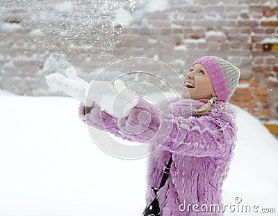 Snow pleasure