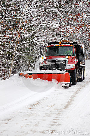 Free Snow Plow Stock Photo - 3935650