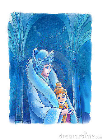 The Snow Queen and the boy