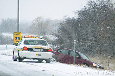 Snow Storm Editorial Photography