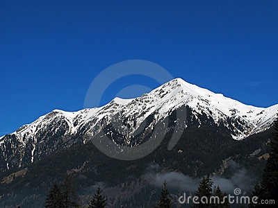 Snow Topped Mountain