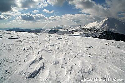 Snow in Ukraina