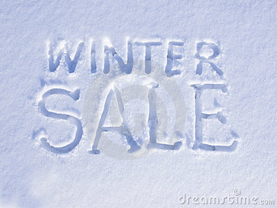 Snow Winter Sale