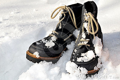 Snow winter shoes