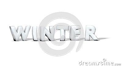 Snow word winter