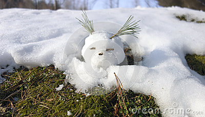 Snowball comes alive