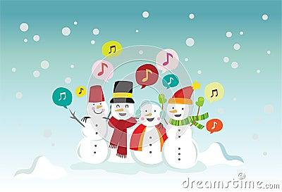Snowball singing