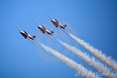 SnowBirds Canada at Toronto Air 2009 show 2009 Editorial Stock Photo