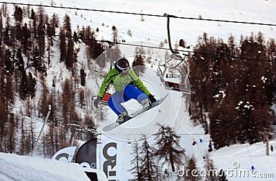 Snowboard Editorial Photo