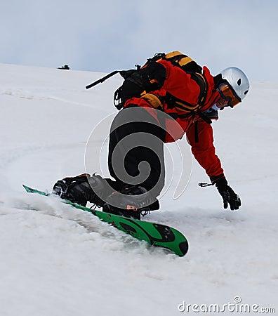 snowboard free ride, Romania