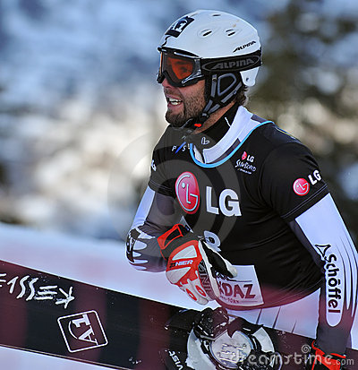 Snowboard Giant Parallel World Cup 2010 Editorial Image