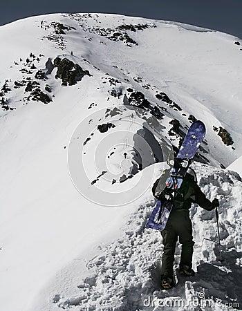 snowboard mountaineer