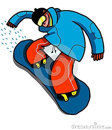 Snowboard teen