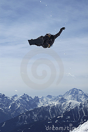 Free Snowboard Trickster Stock Photography - 693532
