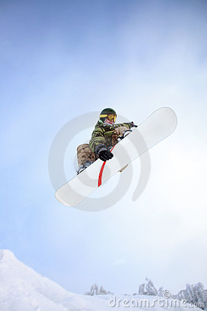 Free Snowboarder Stock Image - 12235891