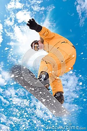 Free Snowboarder Royalty Free Stock Photo - 17061225