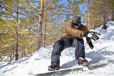 Snowboarder Royalty Free Stock Photos - Image: 24053698