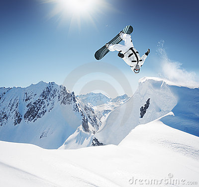 Free Snowboarder Stock Photography - 7253122