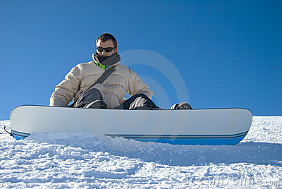 Snowboarder Portrait Stock Photo Stock Images - Image: 4109204