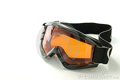 Snowboarding glasses