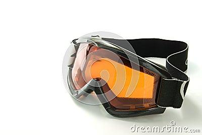 Snowboarding glasses