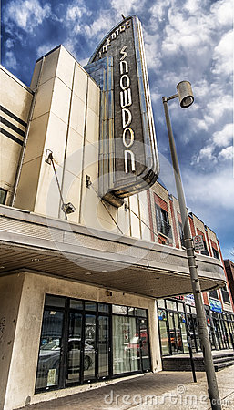 Snowdon theater Editorial Image