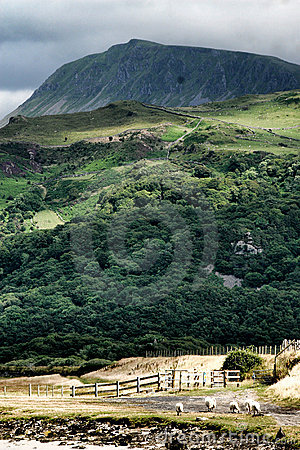 Snowdonia mountains, north Wales, United Kingdom