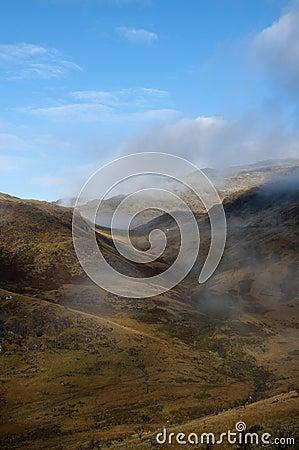 Snowdonia valley landscape